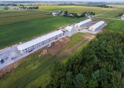 Ferme Choinière - Sainte-Cécile-de-Milton - Constructions Deslandes