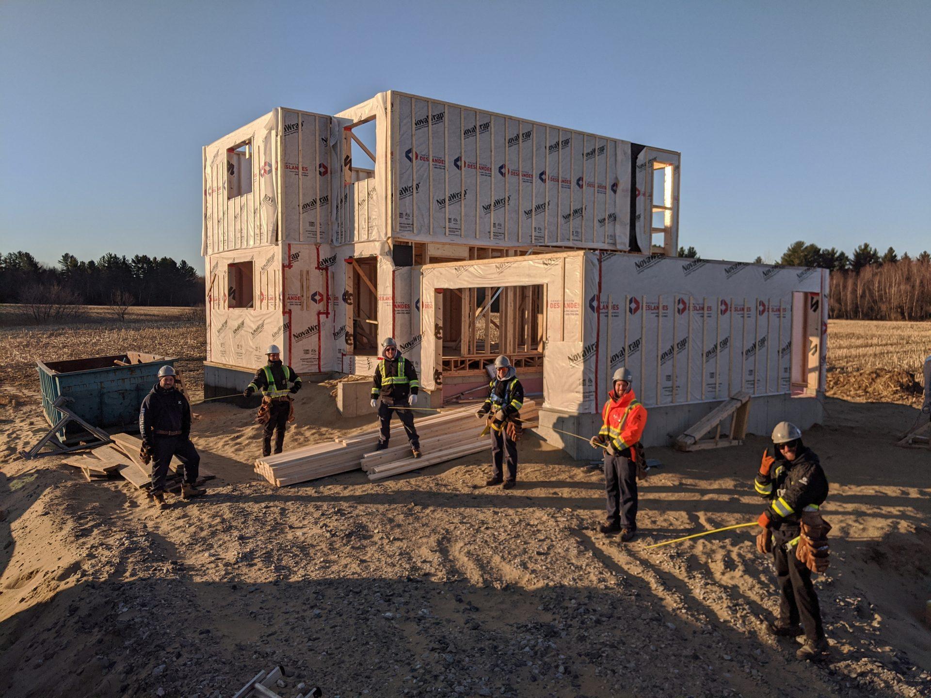 Maison Wickham - Constructions Deslandes