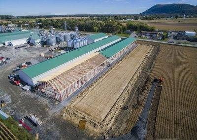 Les Grains Semtech Inc - Saint-Pie - Constructions Deslandes